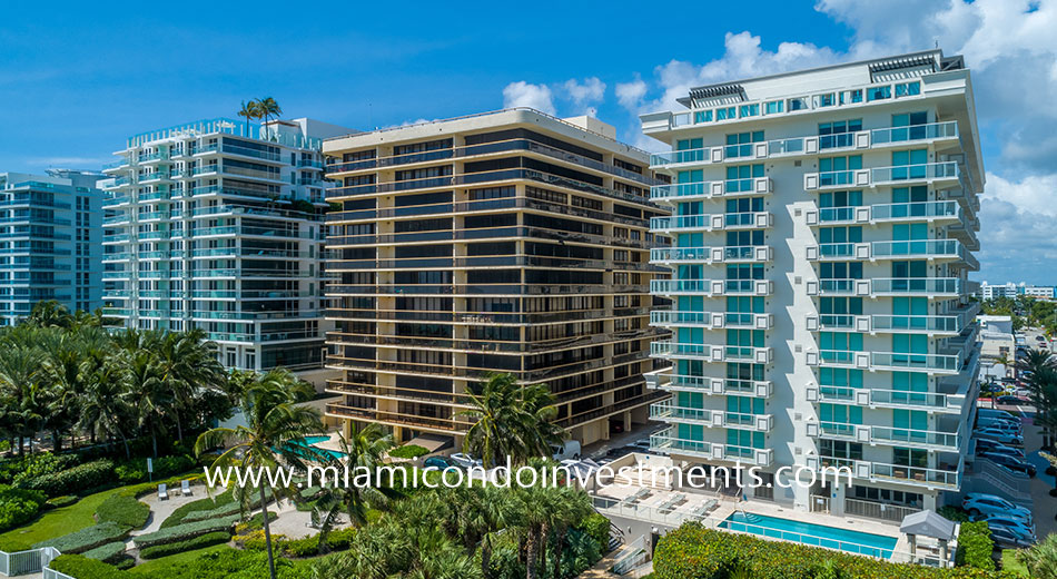 The Waves condos in Surfside