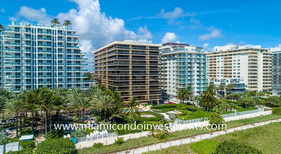 The Waves apartments in Surfside