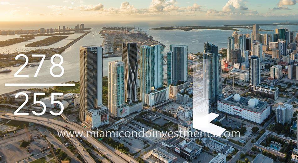 Legacy residences Miami Worldcenter