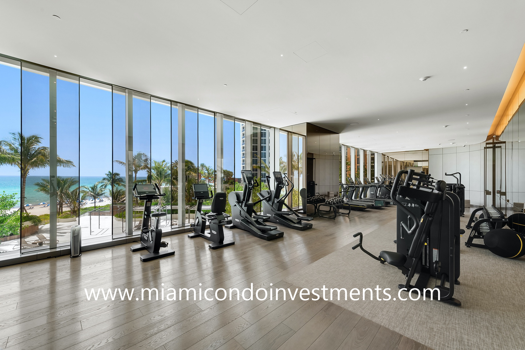 Armani Casa fitness center