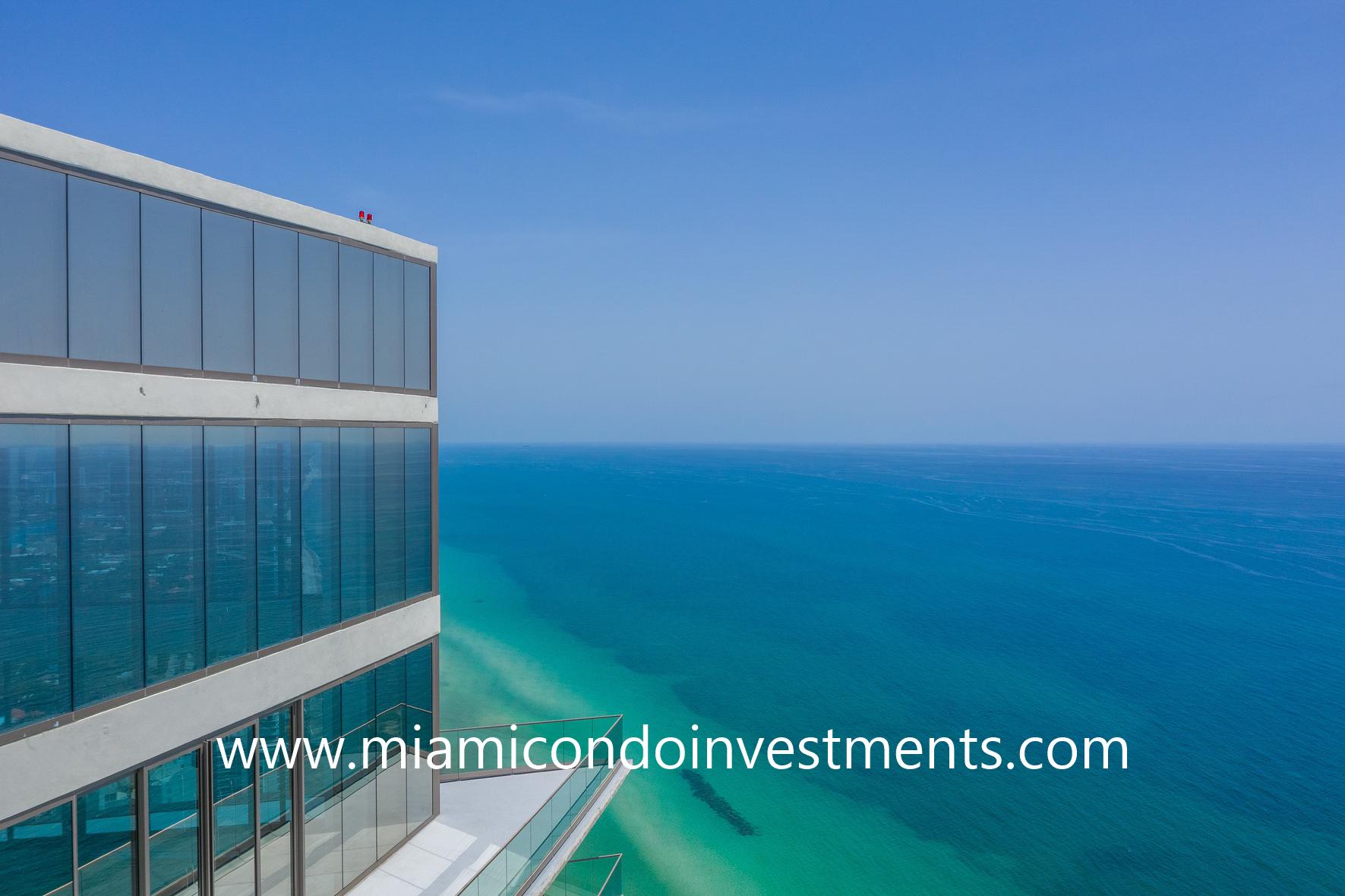 Residences by Armani Casa penthouse views