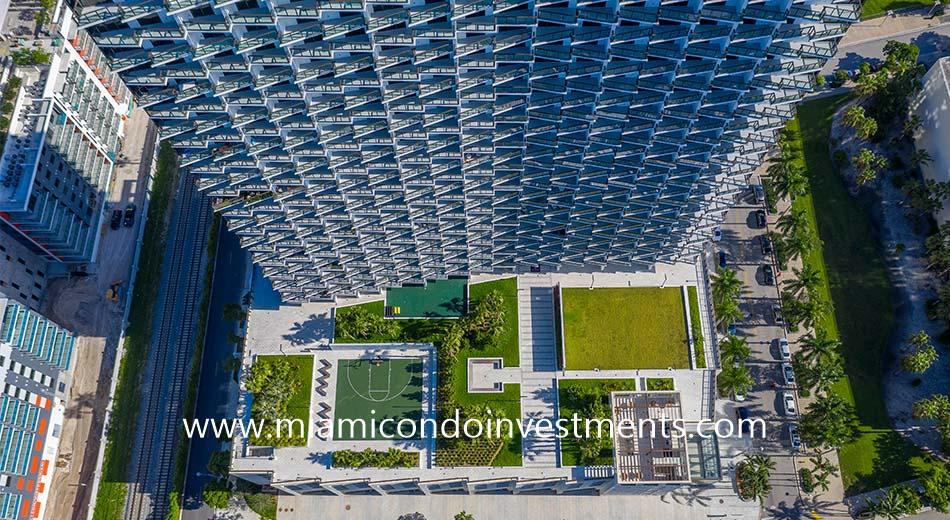 Gio Midtown aerial photo