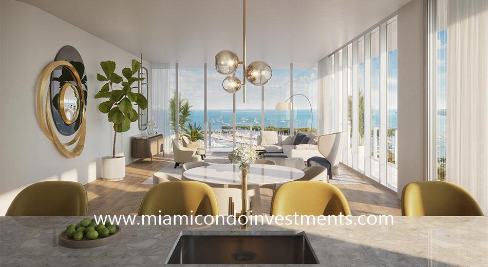 living room - Mr C Residences