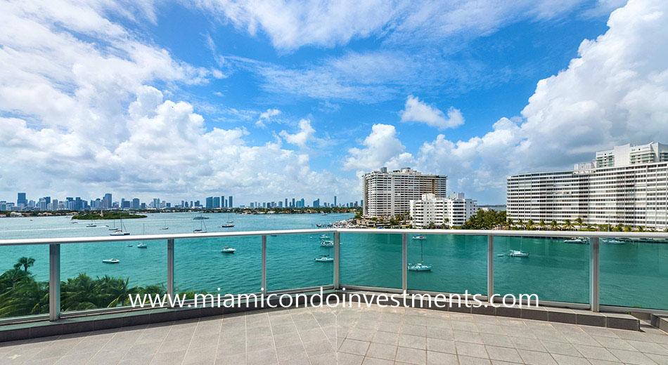 terrace at Flamingo South Beach