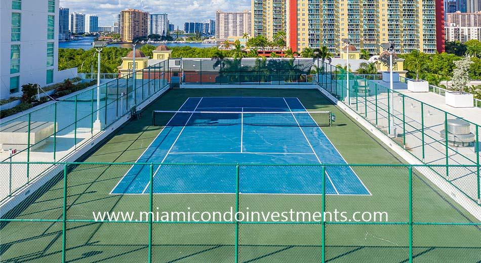 400 sunny isles tennis court