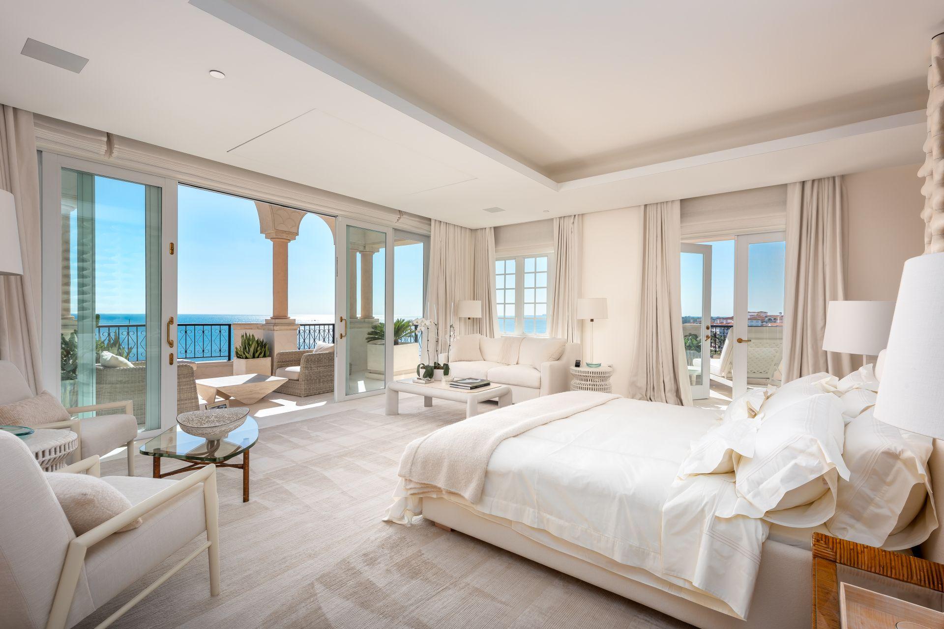 master bedroom - Oceanside PH7292 on Fisher Island