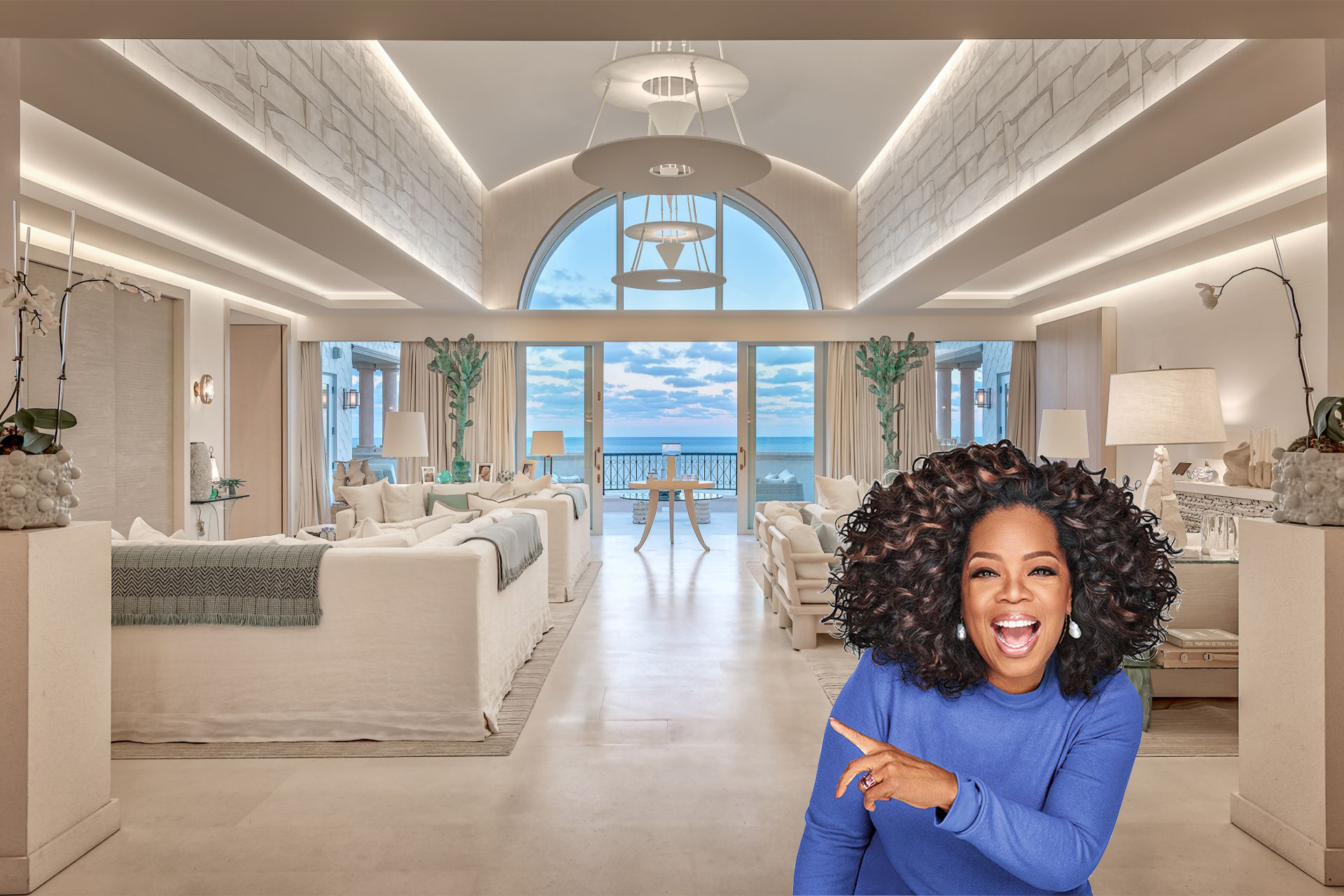 Fisher Island penthouse previously owned by Oprah Winfrey sets sales record