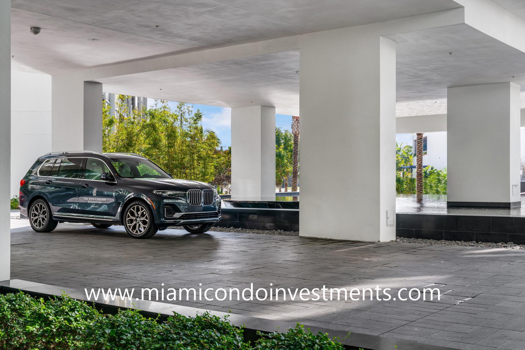 house car at Ritz-Carlton Residences Miami Beach