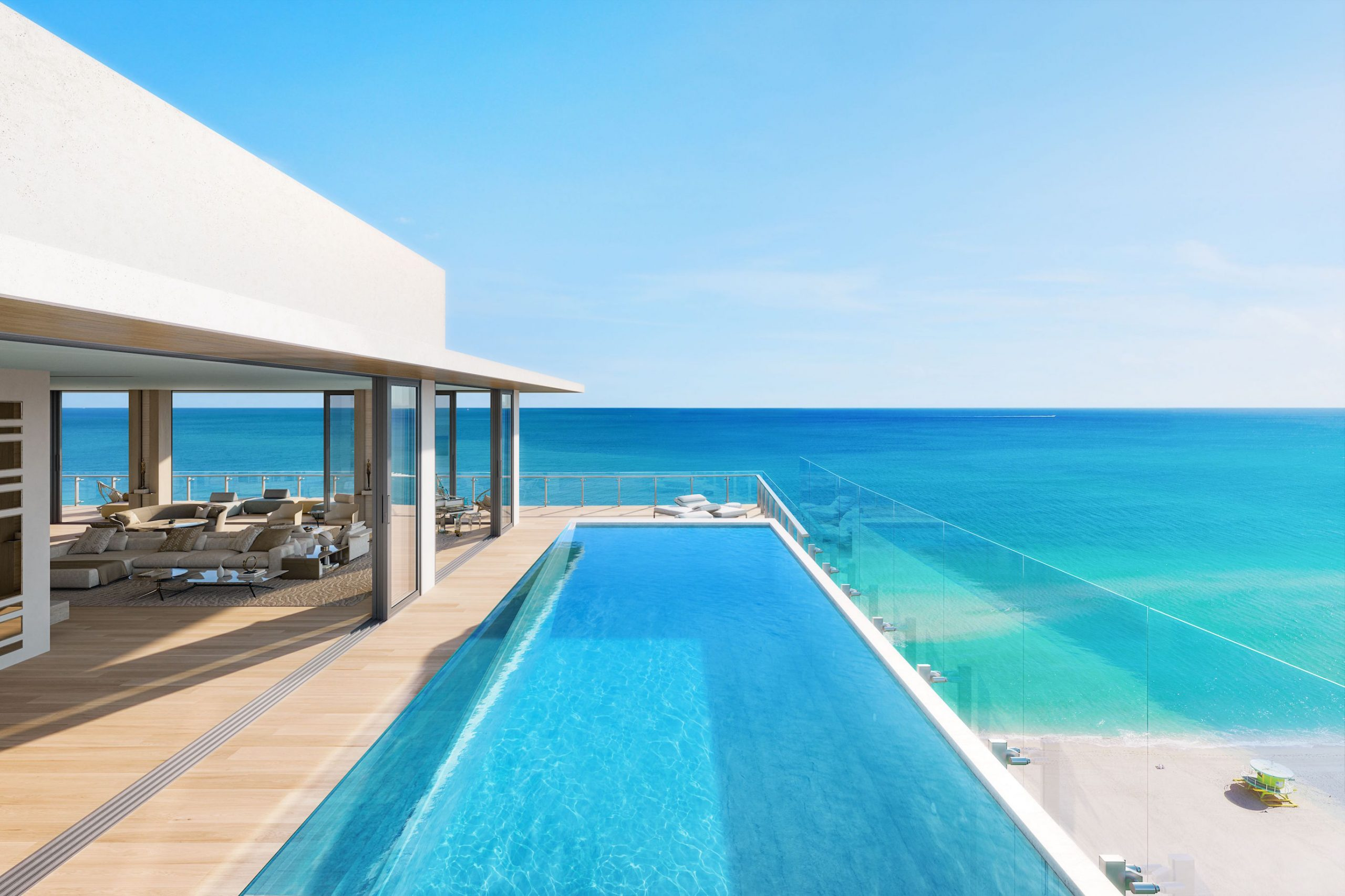 57 Ocean penthouse with rooftop pool