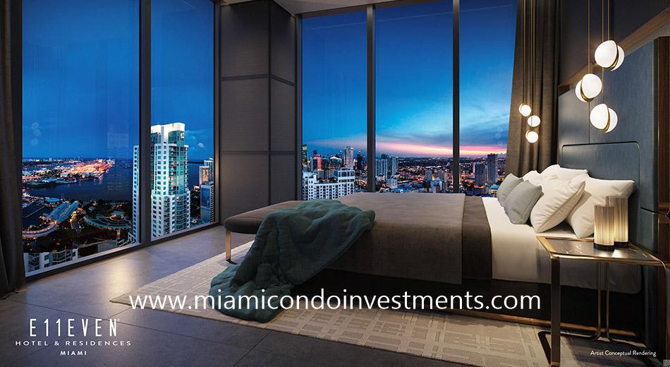 master bedroom - E11even Hotel & Residences