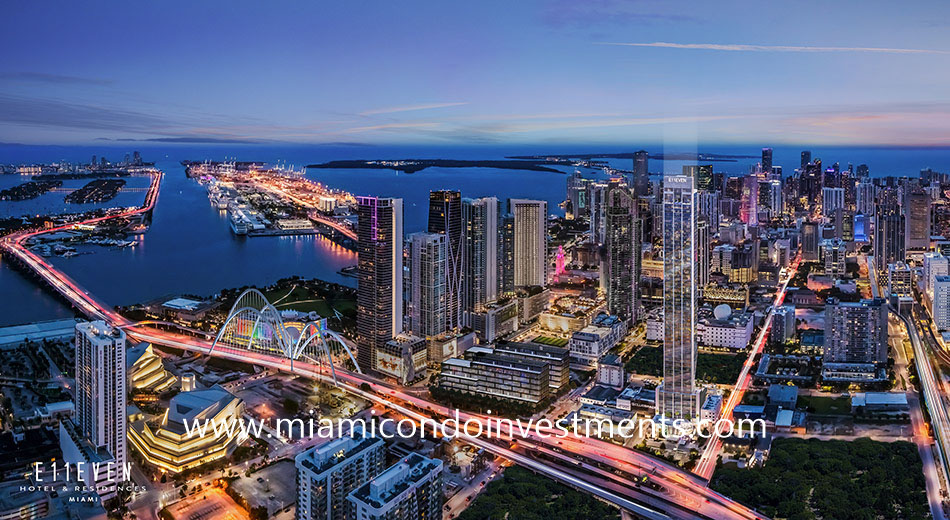 E11even Hotel & Residences in Park West Miami