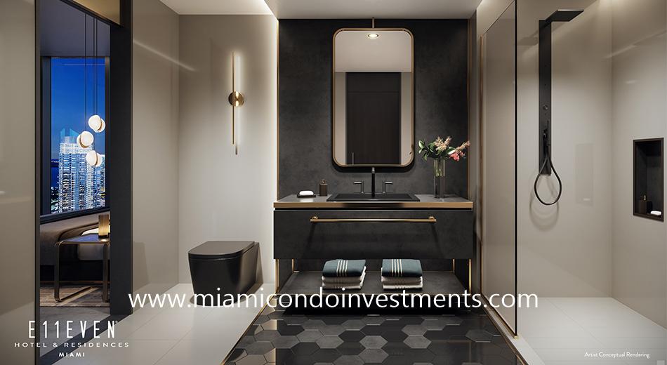 Master Bath - E11even Hotel and Residences