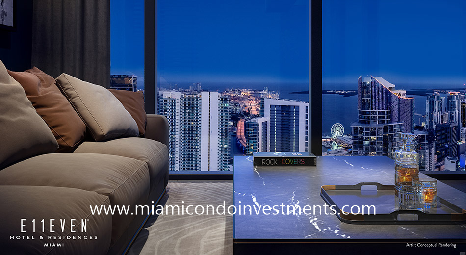 living room - E11even Hotel & Residences