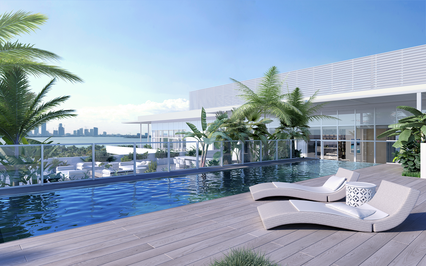 penthouse 12 rooftop pool