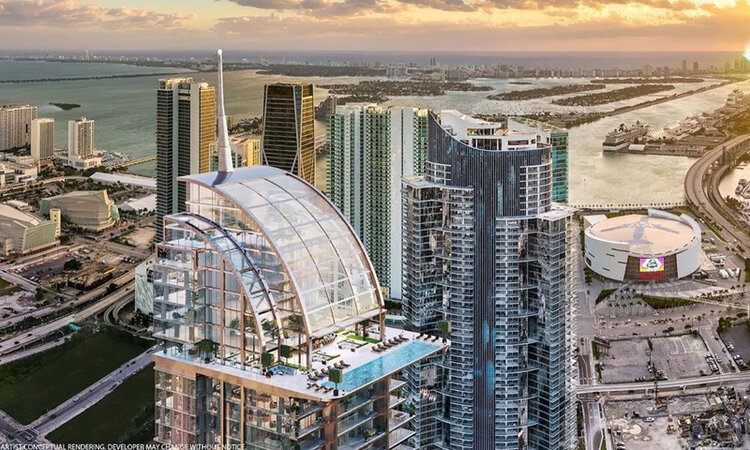 Legacy Hotel and Residences Miami Sky Lounge and Pool