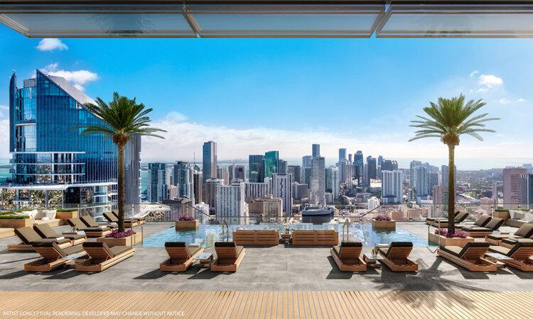 Miami Legacy Sky Lounge and Pool