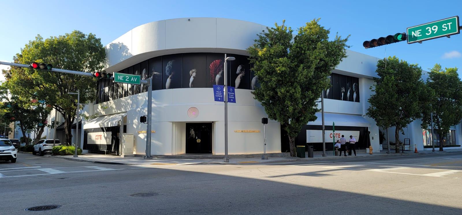 exterior photo of COTE Miami Design District