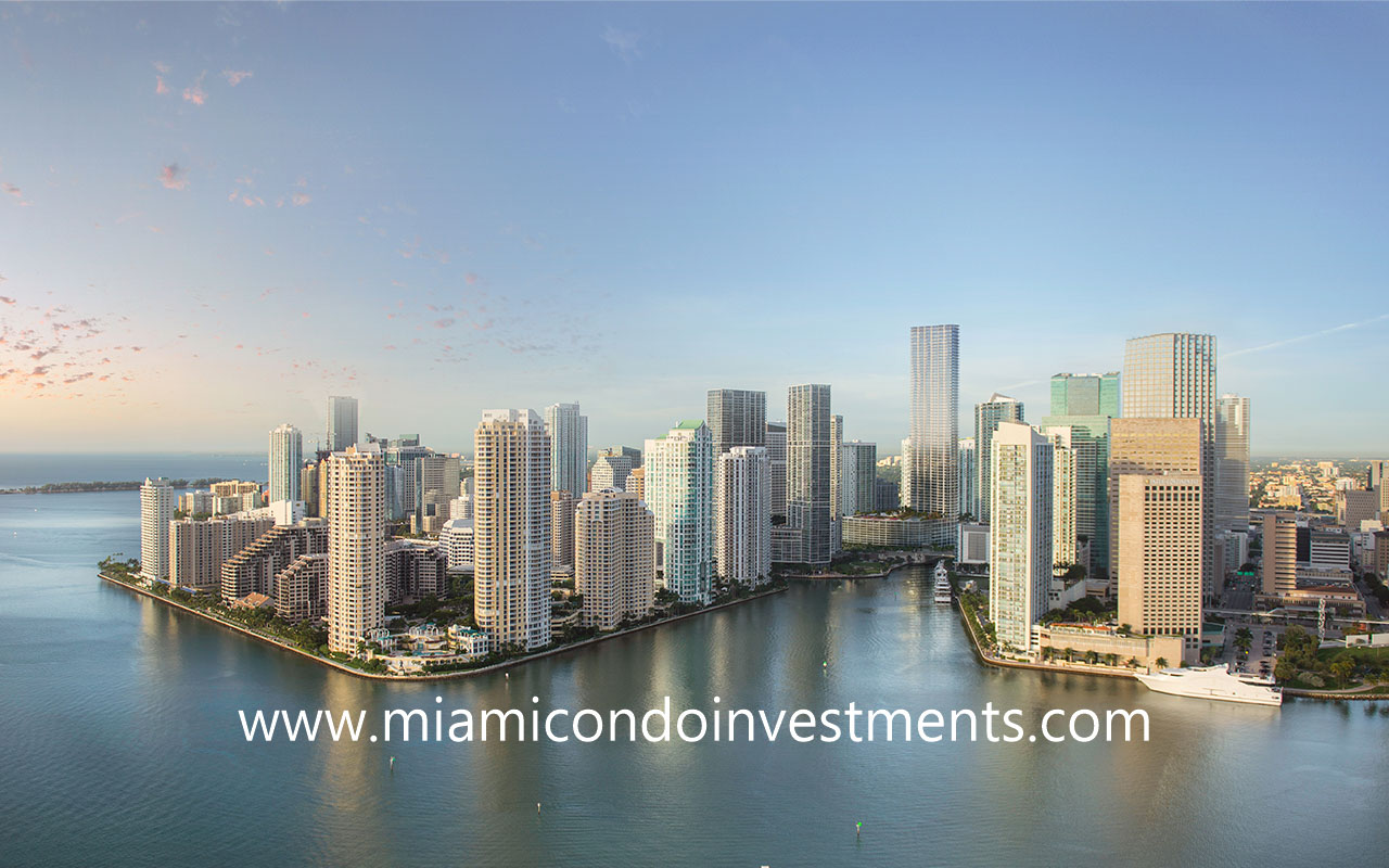 Baccarat Residences Miami 75-story tower
