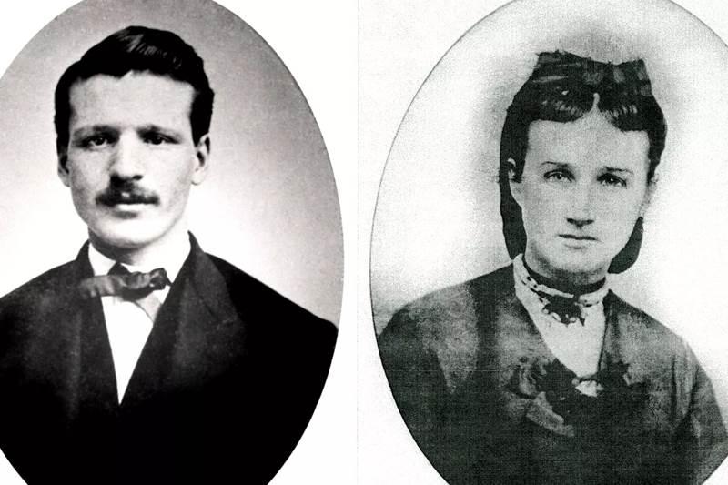 Photo of Will and Mary Brickell.