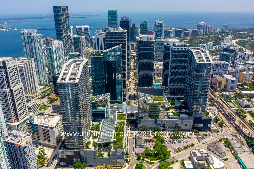 Brickell Miami skyscrapers