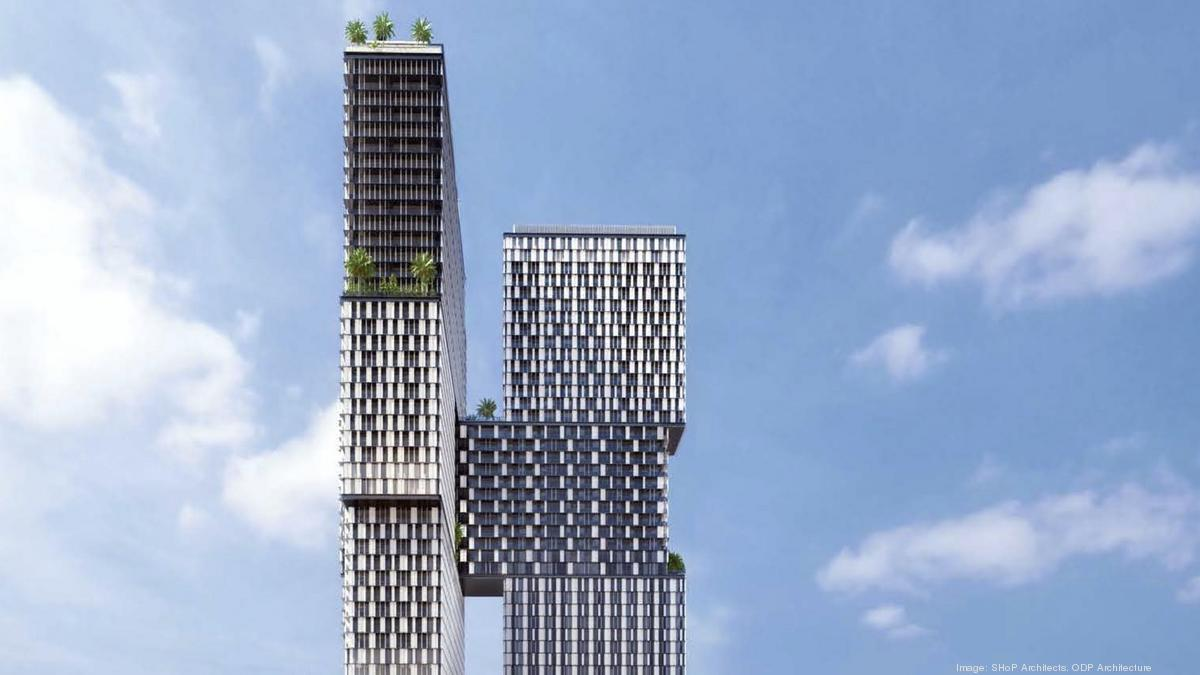 Rendering of Treehouse Hotel in Brickell. Photo Credit: BizJournals/SouthFlorida