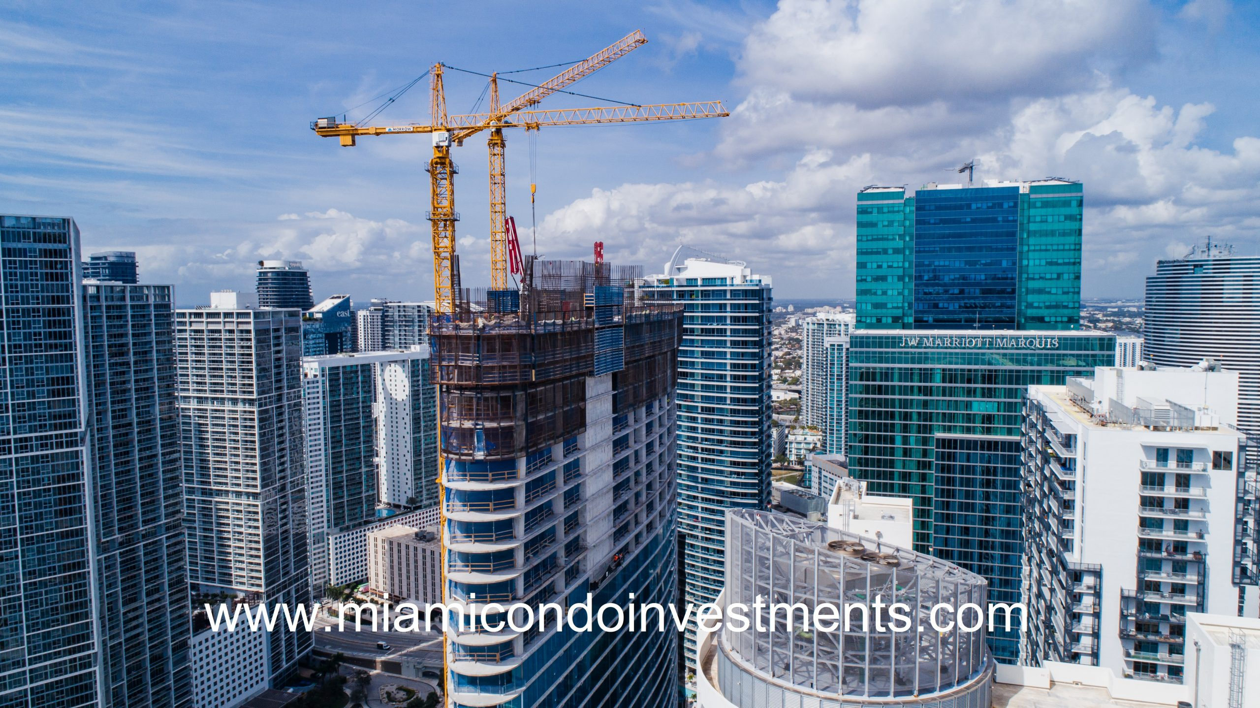 Aston Martin Residences Tower View from the Top