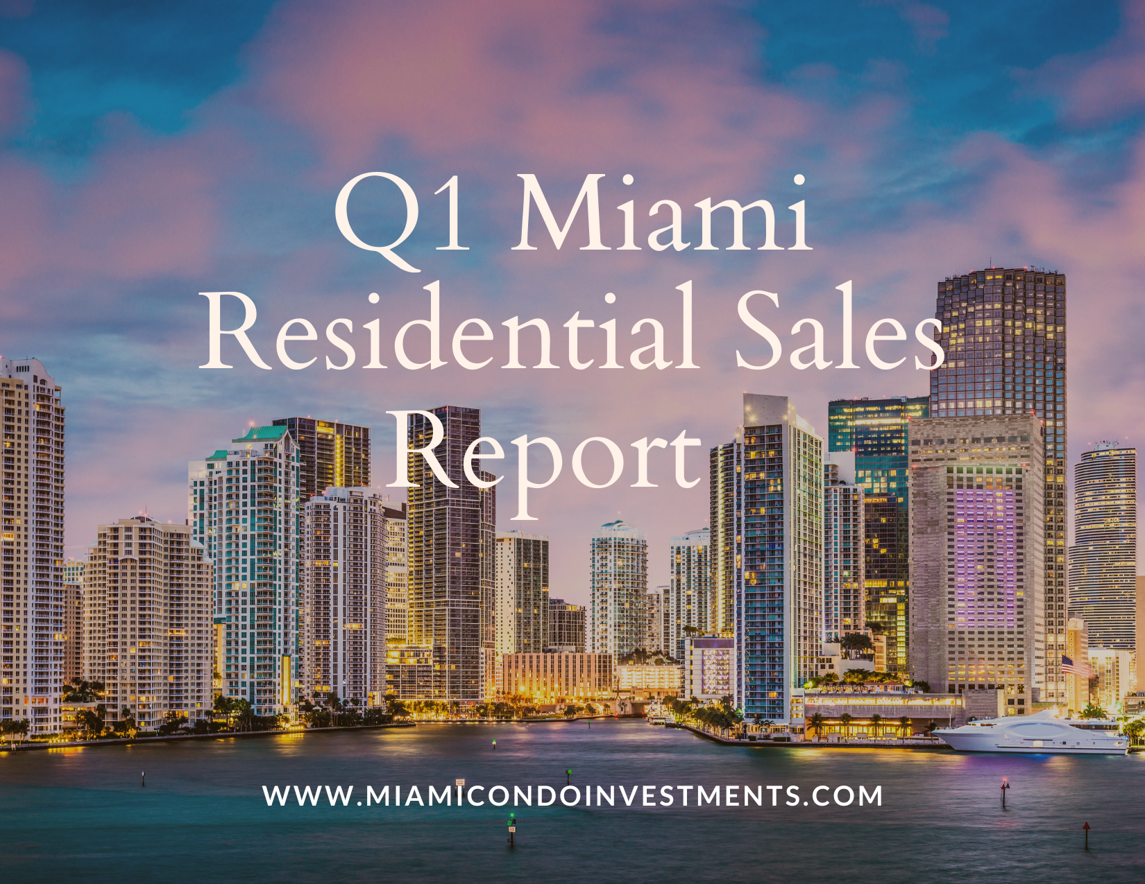 Miami-Dade County Q1 Sales Report by Douglas Elliman