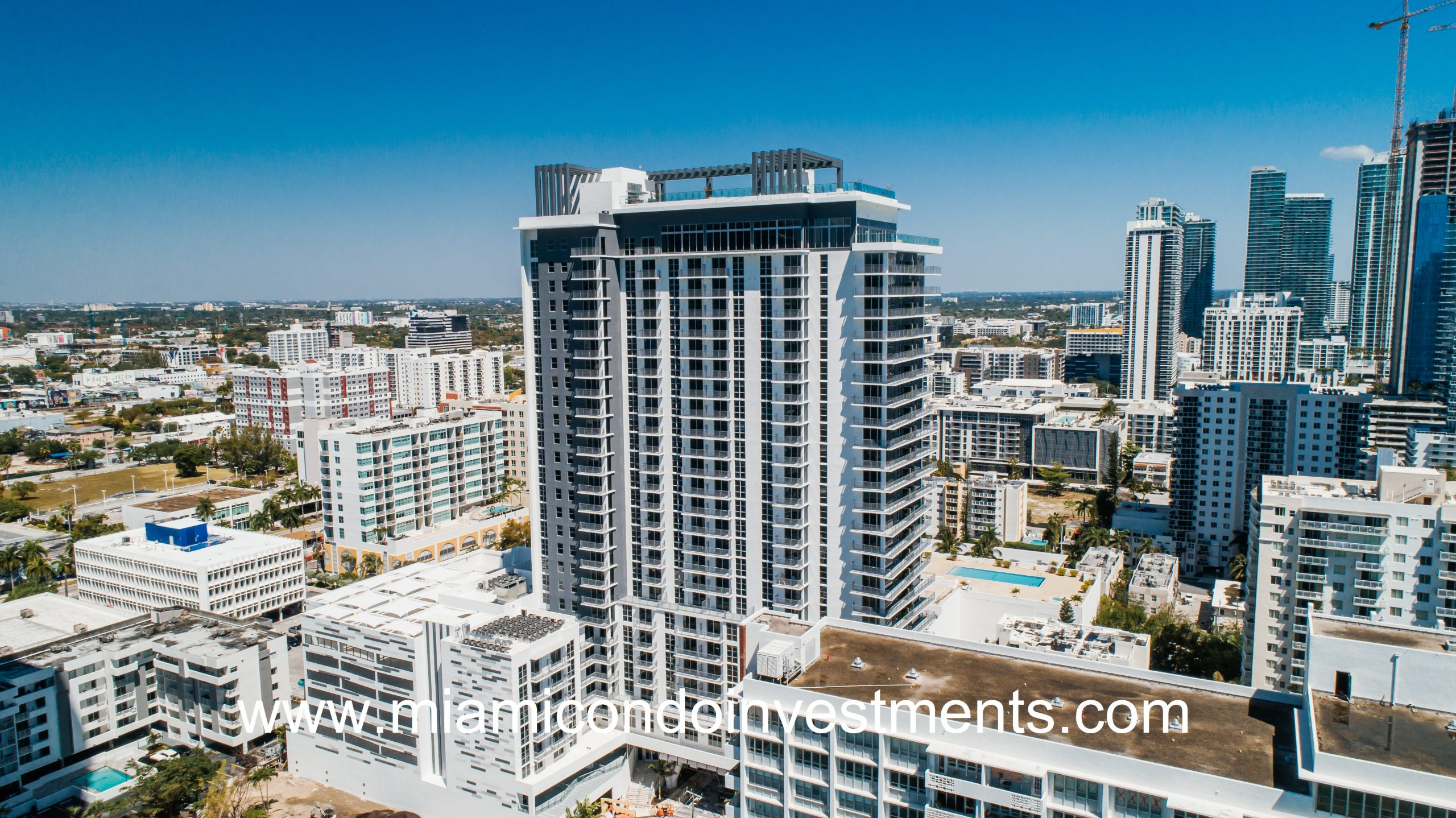 Modera Biscayne Bay Tower Tops Off