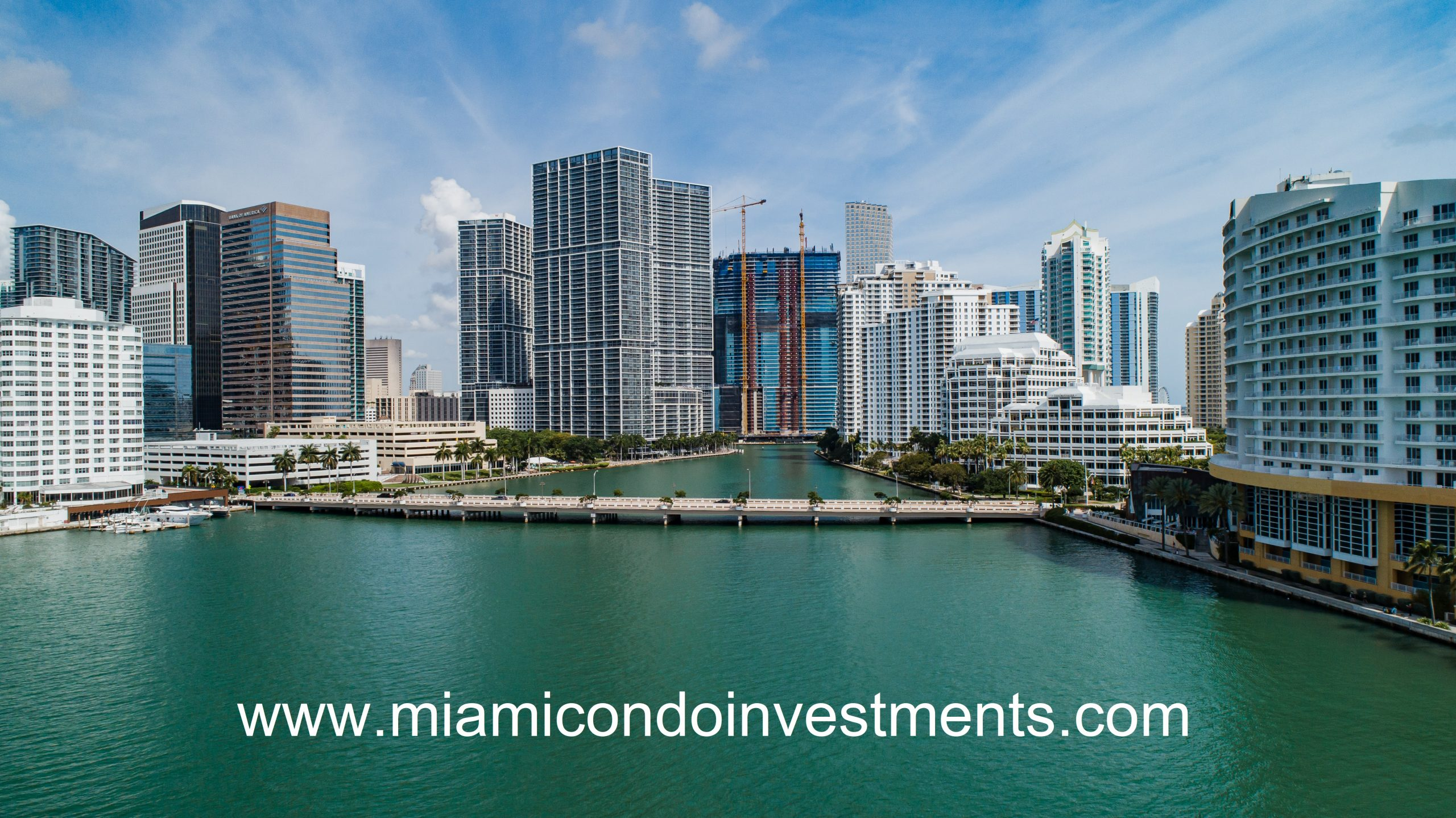 View of Aston Martin Residences from Biscayne Bay