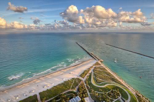South Beach Aerial View