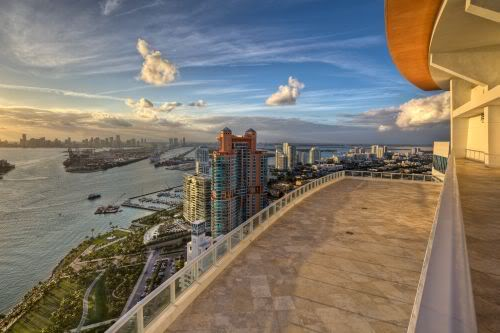 Continuum South Beach Rooftop View