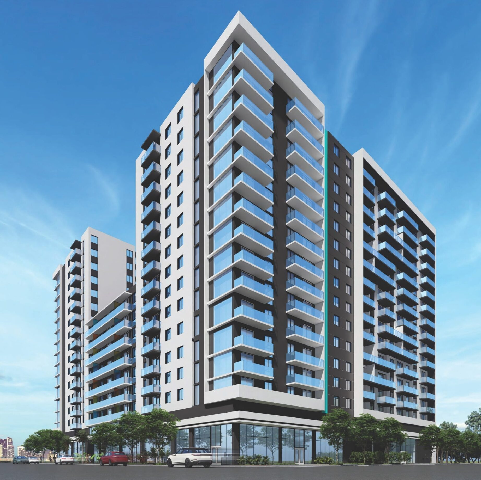 Rendering of the Urban22 Tower