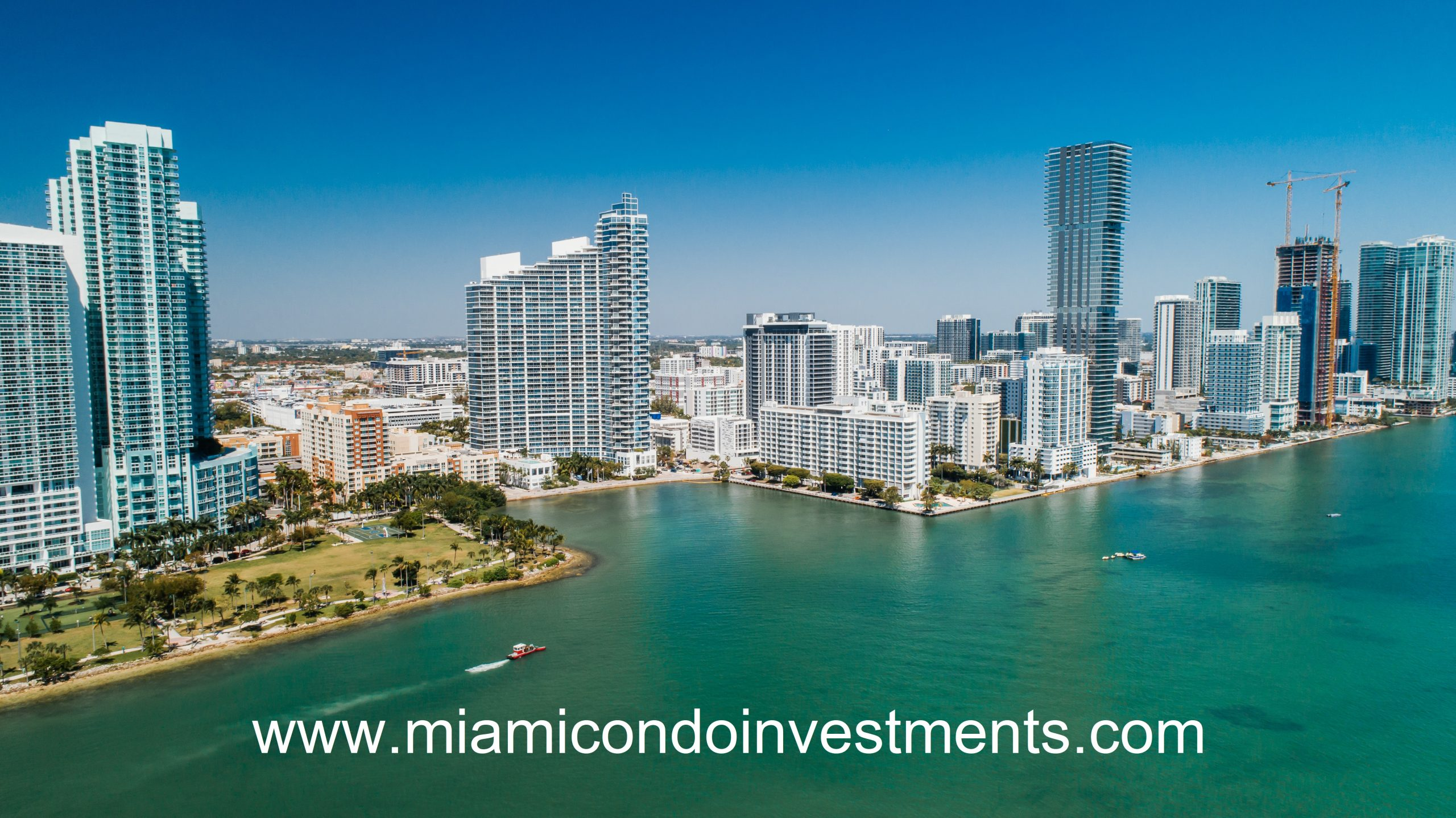 Modera Biscayne Bay Tower View from Biscayne Bay