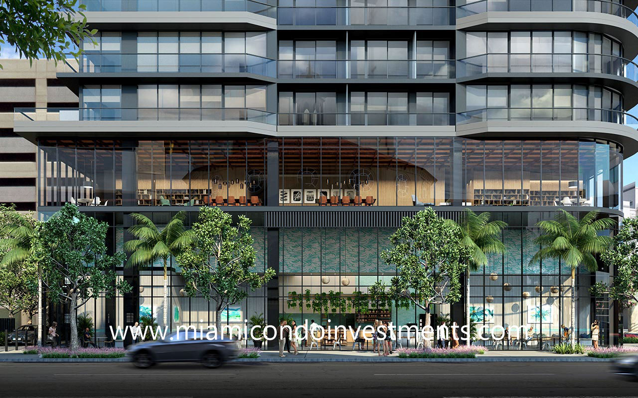 501 First Residences condominium building