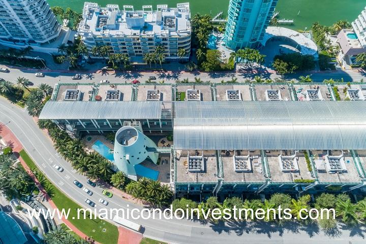 Terra Beachside Villas Aerial Views