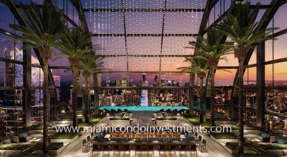 Legacy Hotel & Residences Rooftop Atrium