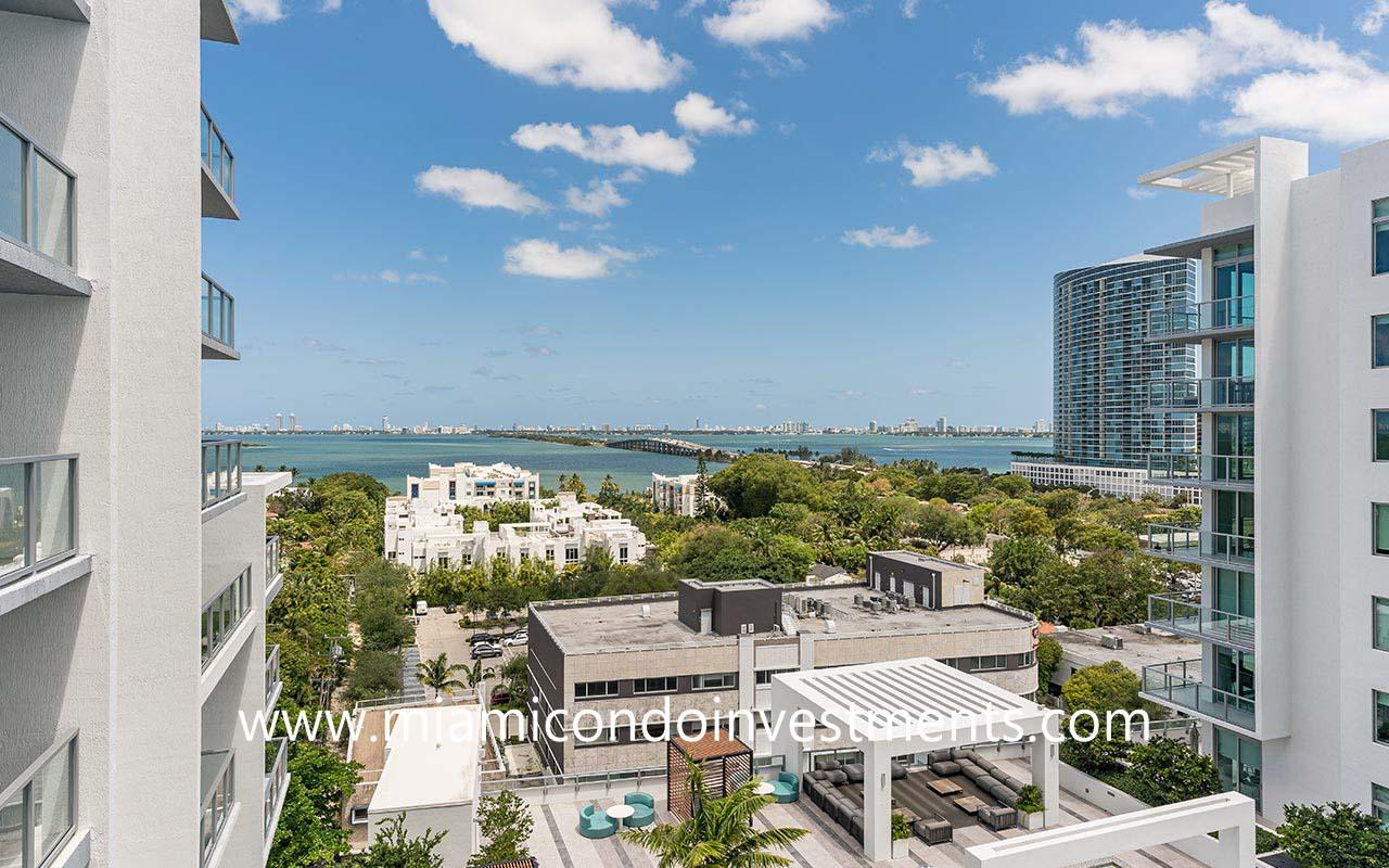 views from Quadro in Miami Design District