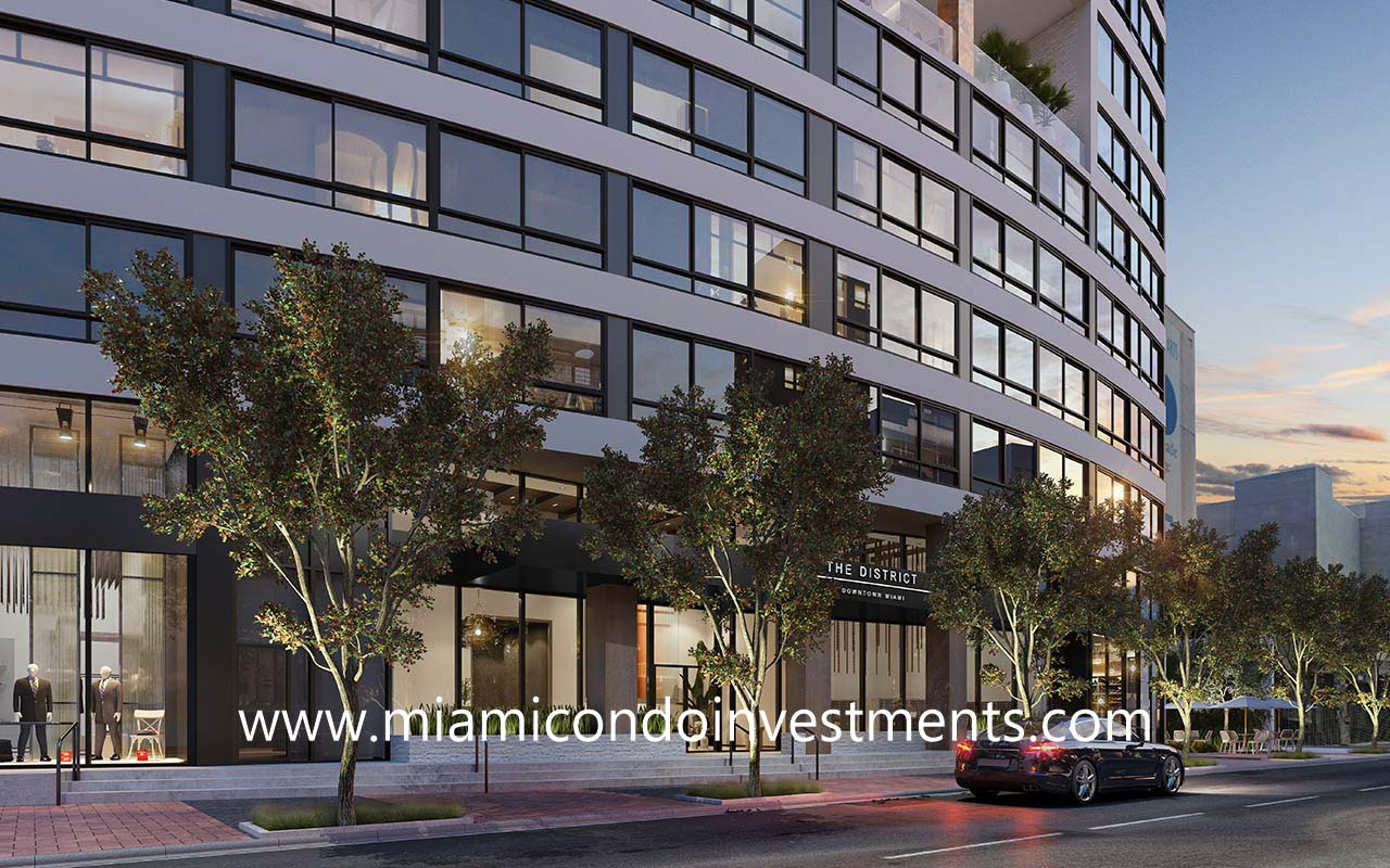 The District Downtown Miami condos