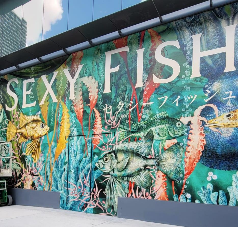 Sexy Fish Brickell Flatiron