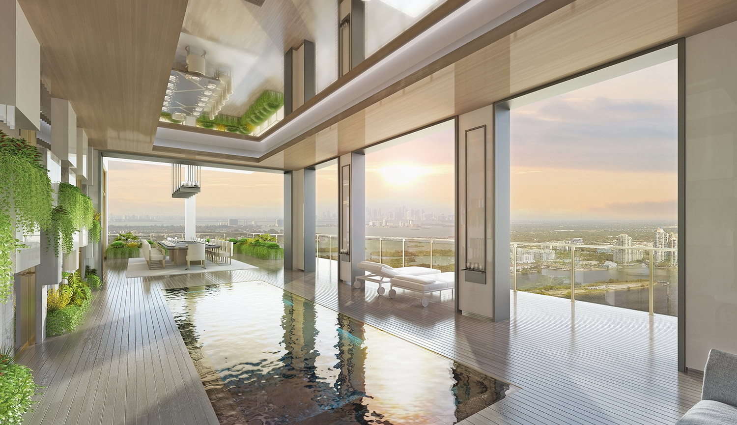 Penthouse Pool at the Mansions of Acqualina