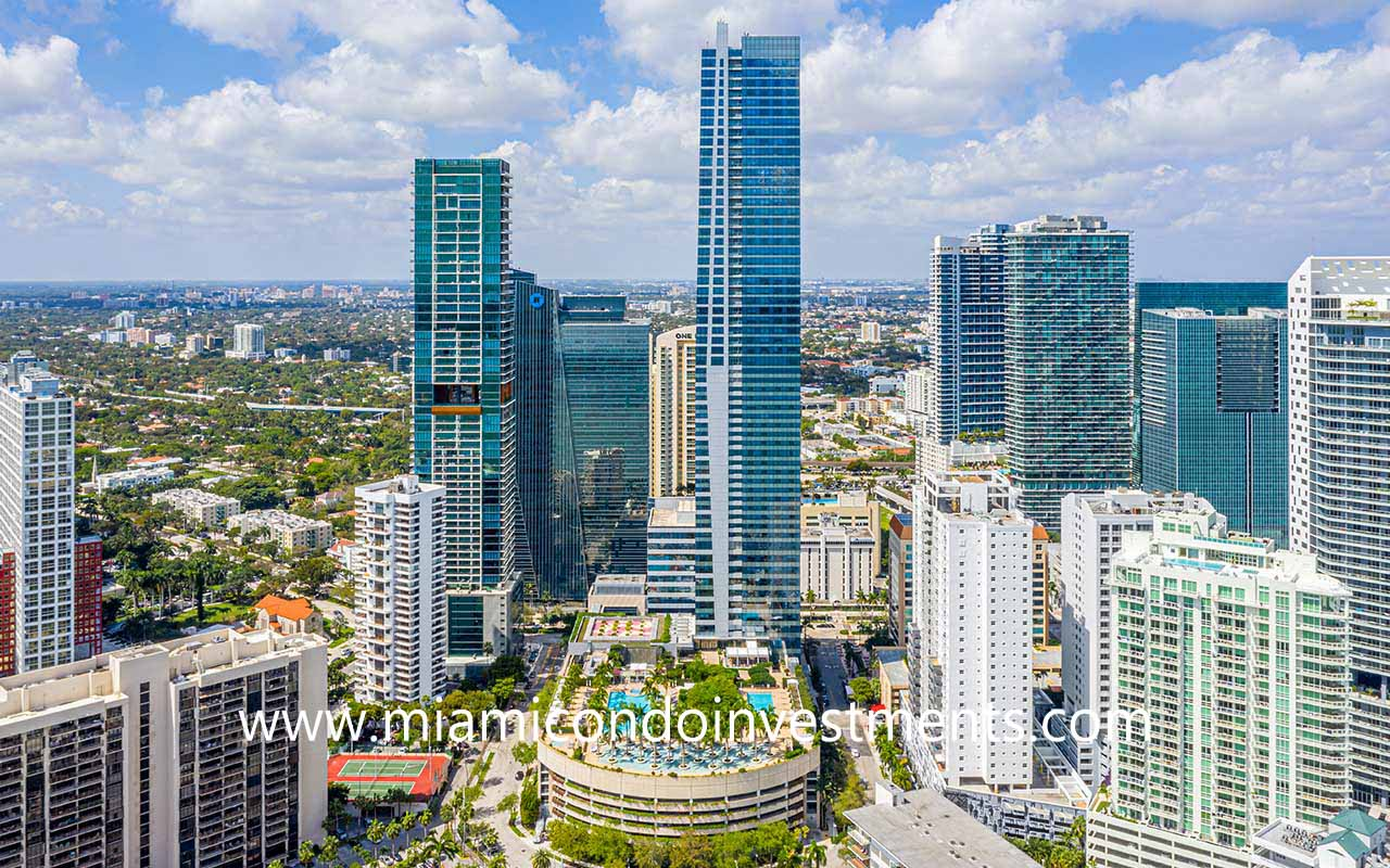 Four Season Hotel and Residences in Brickell
