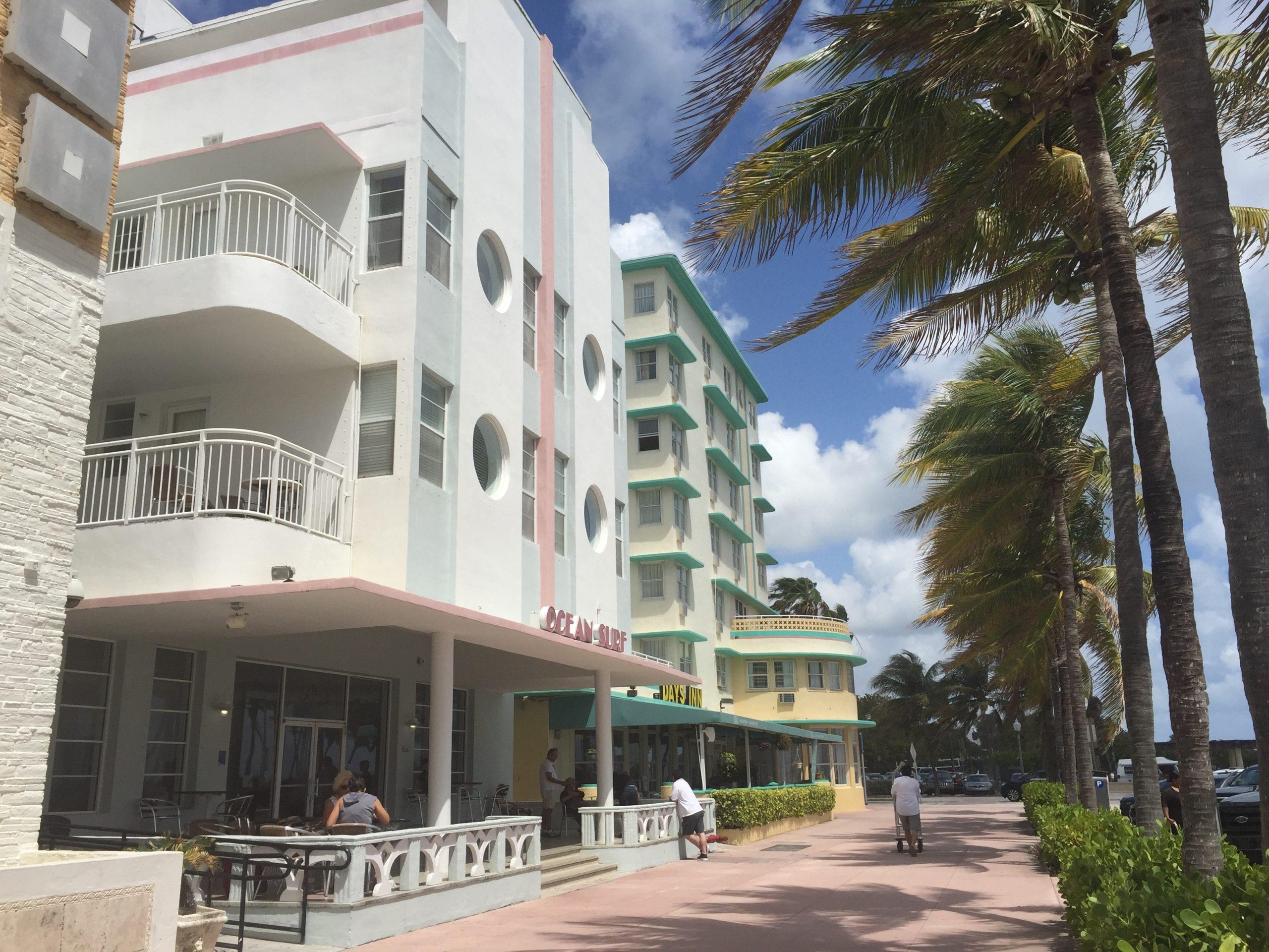 Ocean Surf and Broadmoor Hotels of Ocean Terrace