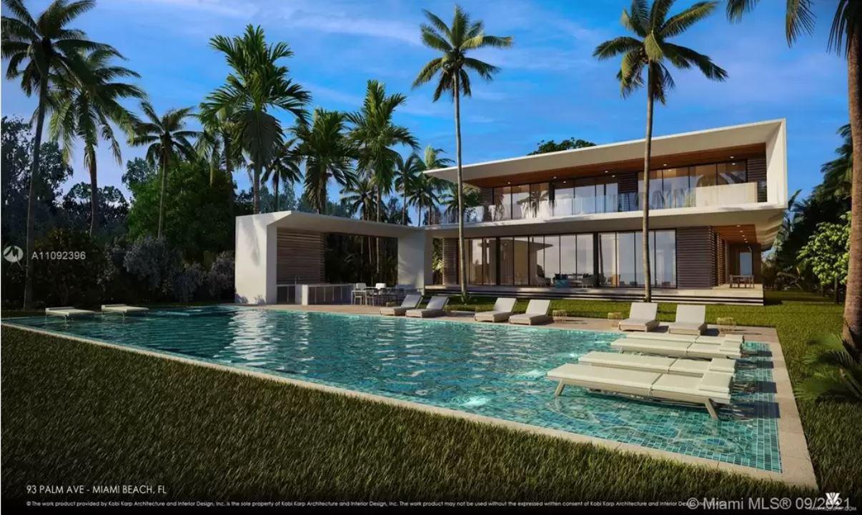 Modern Spec Mansion on Palm Island
