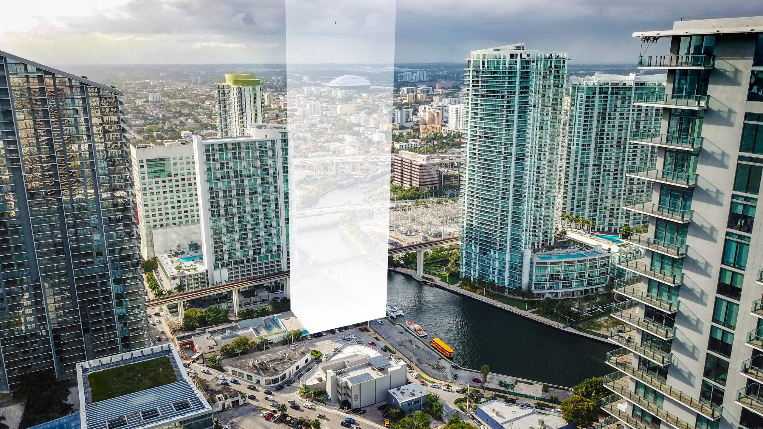 Lofty Brickell on the Miami River