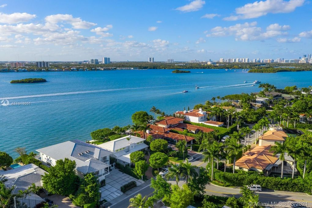 Aerial View of Bay Harbor Islands