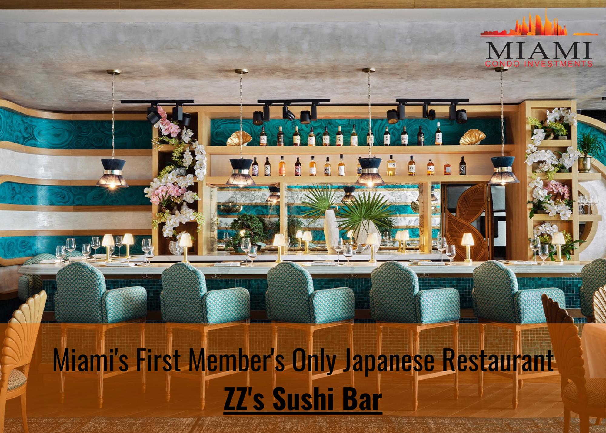 ZZ's Sushi Bar in Miami's Design District